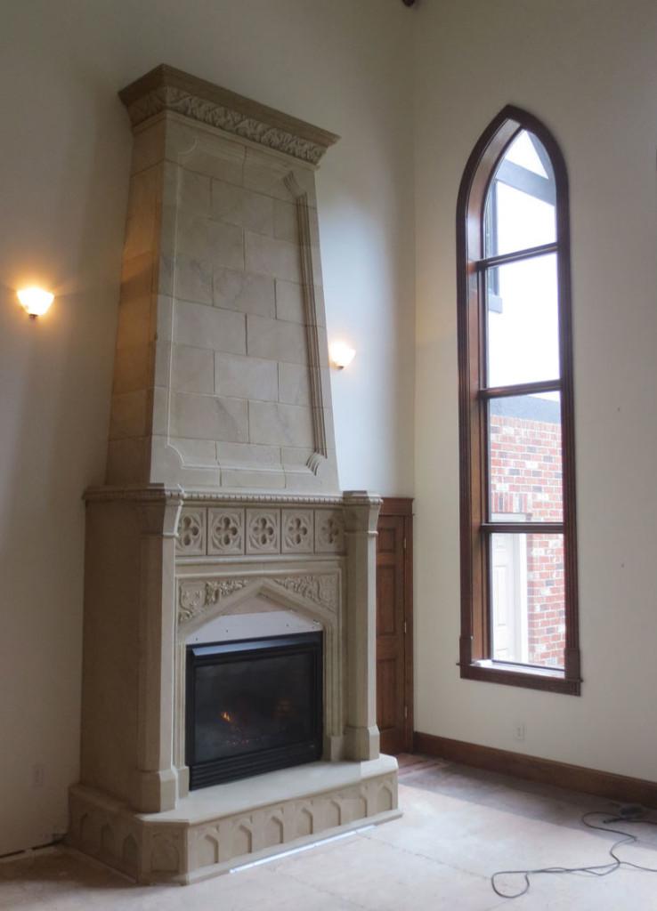 custom fireplace mantels. Black Bedroom Furniture Sets. Home Design Ideas