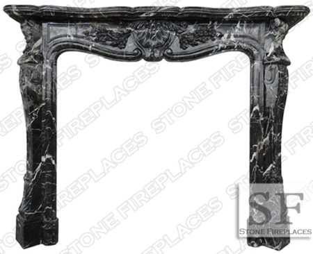 ST-LOUIS-BLACK-MARBLE-MANTEL