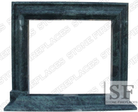 Modern Marble Frame Fireplace Mantel
