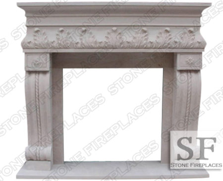 Naples Sandstone Fireplace Surround