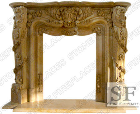 Make your living space look extra-ordinary by introducing one of the exquisitely designed French marble fireplaces that we offer. Make your existing decor look awesome and add unmatched class to your home. The appeal of these beautifully crafted French fireplaces is sure to create a long lasting impression on your