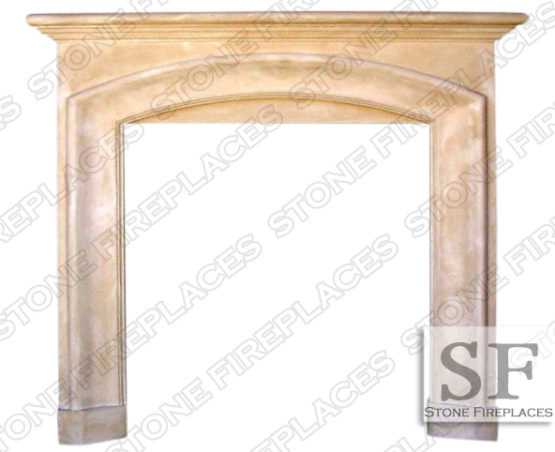 Cast Stone Surround, Fireplace Mantel, Catalina