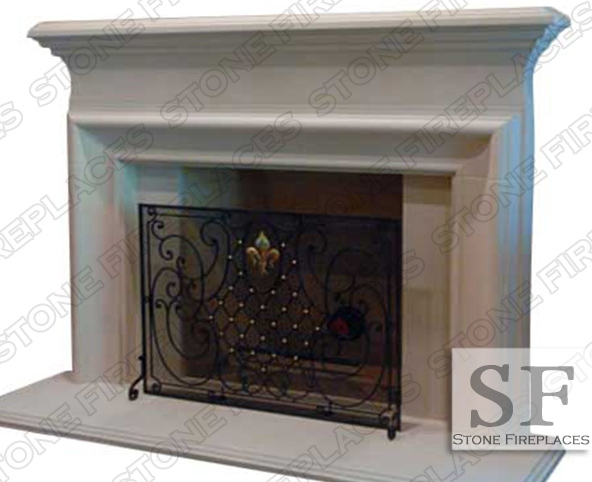 Cast Stone Fireplace Old World