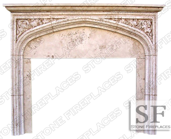 Tudor Fireplace Mantel English