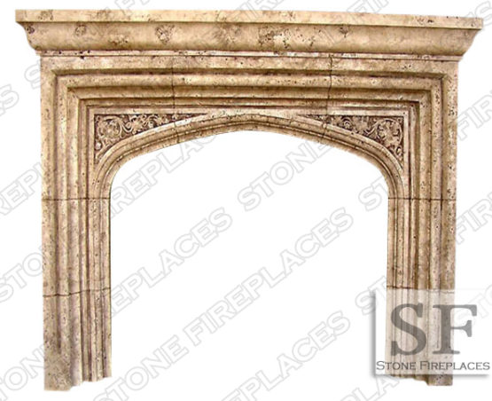 Tudor Fireplace Mantel