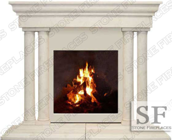 Fireplace Cast Stone Mantel