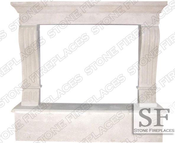 Fireplace Cast Stone Surround