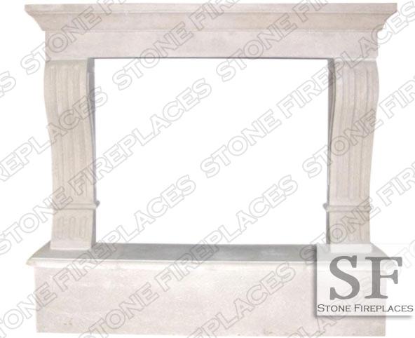 Fireplace Cast Stone Surround