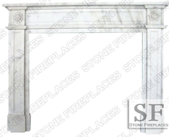 English Regent Marble Fireplace Sale