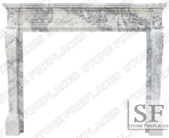 Fireplace Italian Marble Fireplace Mantel