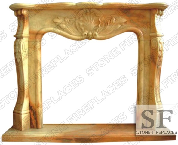 Barrington Marble Fireplace Mantel