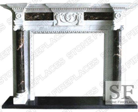 Charleston Marble Fireplace Surround