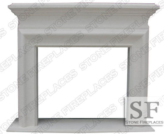 Clermont Limestone Mantel Surround