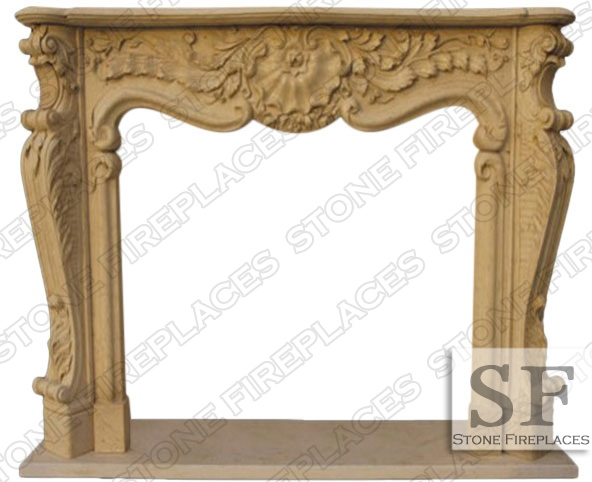 Connecticut Marble Fireplace Mantel