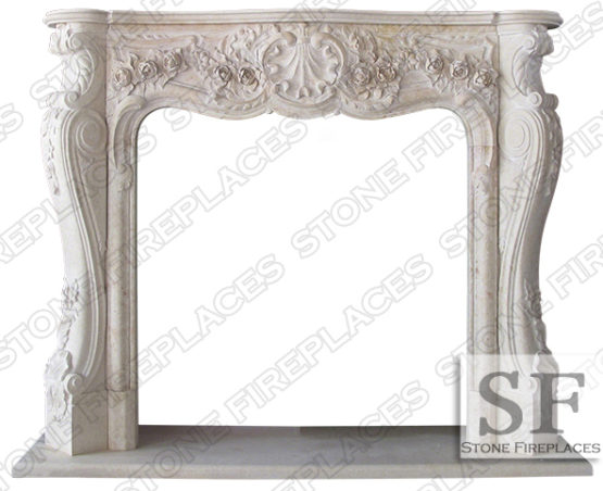 Victoria Marble Fireplace Mantel