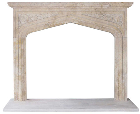 Travertine Fireplace Surrounds